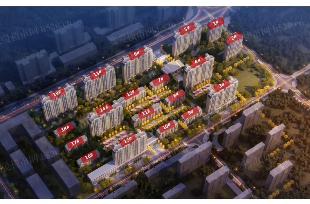 涿州观棠上境项目沙盘图