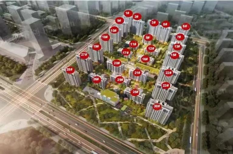 涿州中冶未来城项目沙盘图