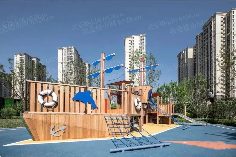 涿州海蓝城实景图