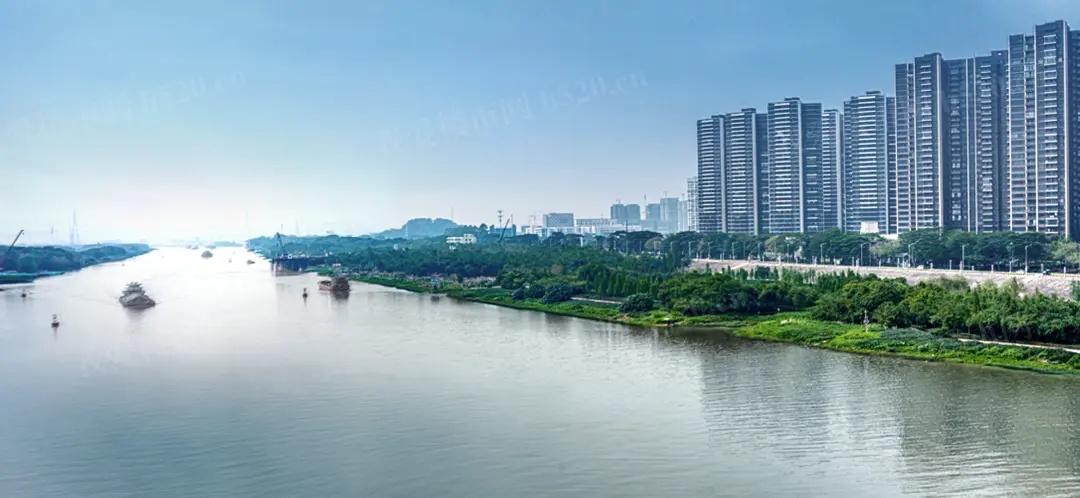 东平江实景图