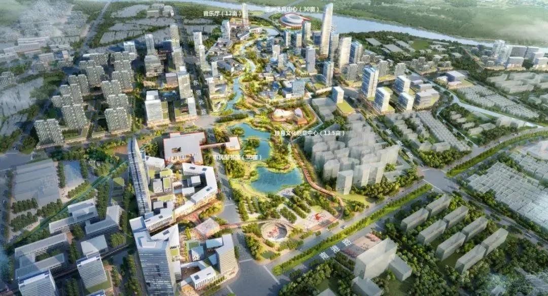 映月新城规划图