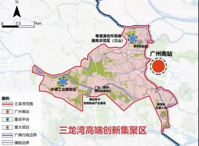 最新三龙湾规划范围