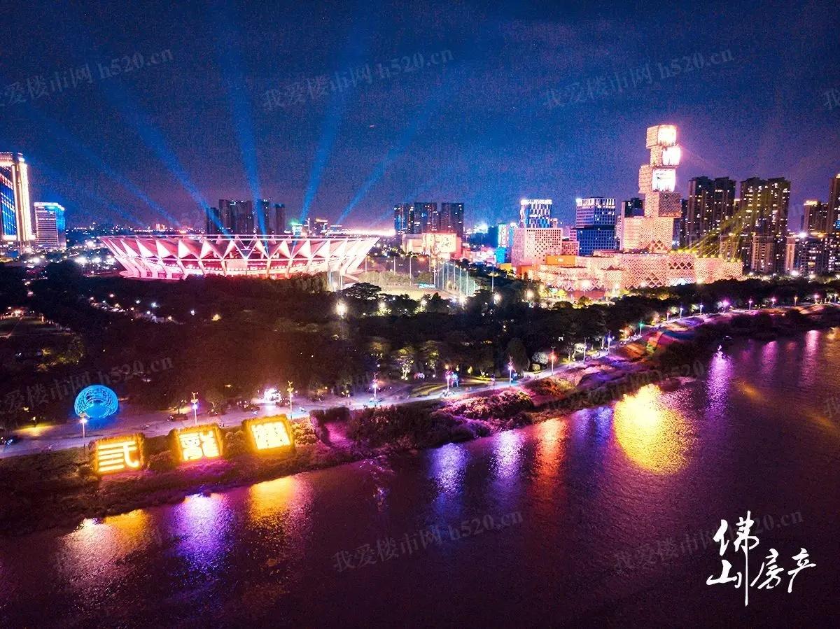 佛山新城璀璨夜景