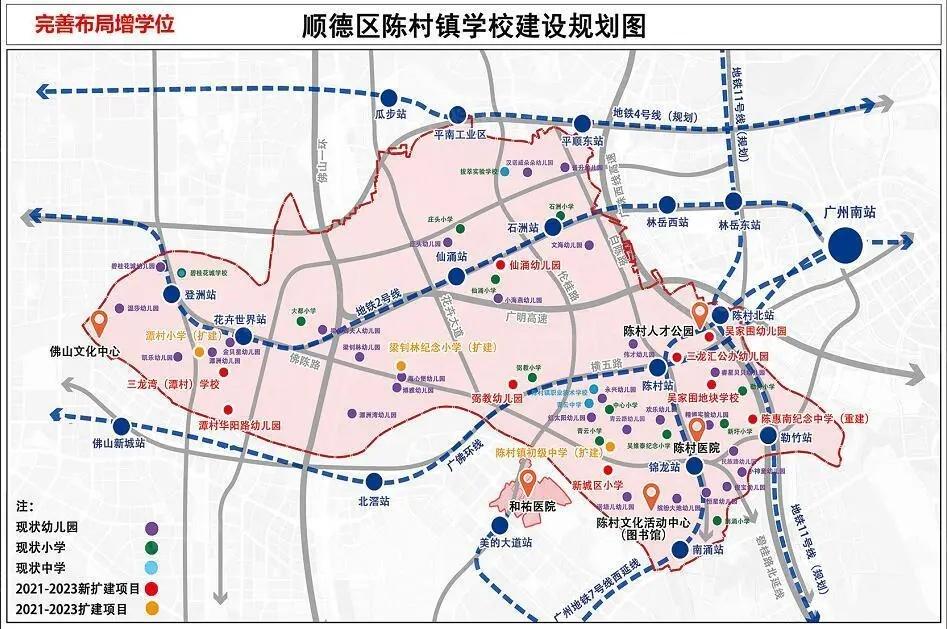 陈村学校规划