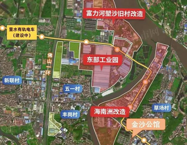 东部工业园、海南洲工业园、河塱沙旧村等三大改造