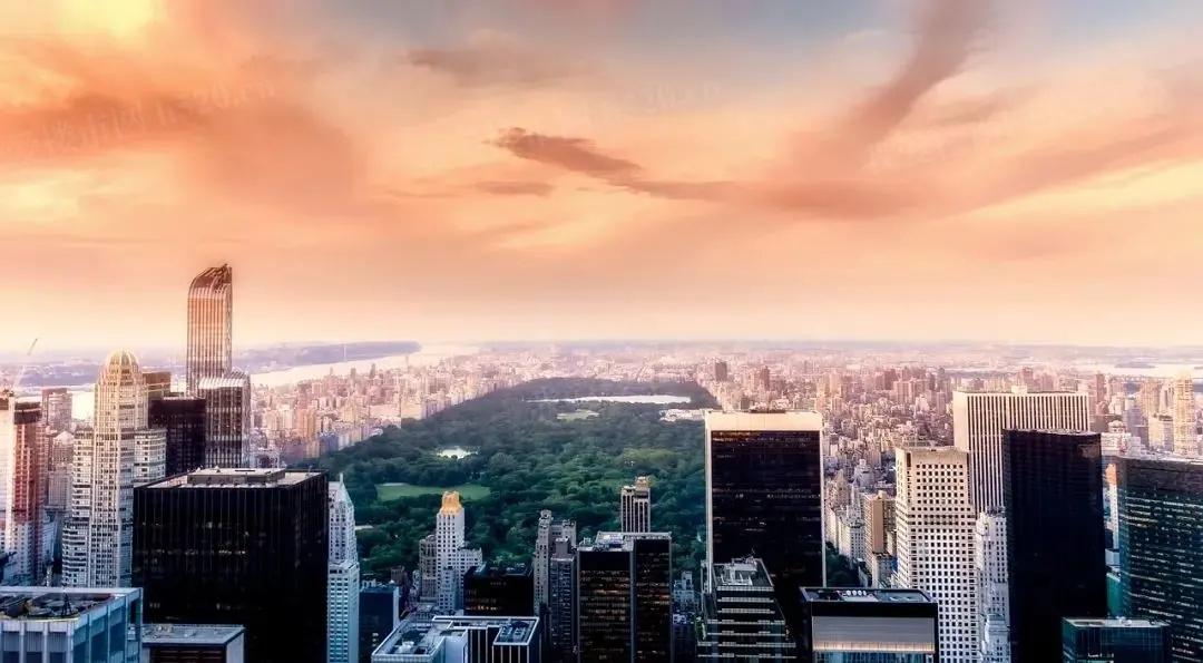 纽约中央公园实景图