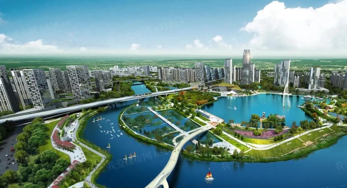 佛山楼市:佛山三山新城规划