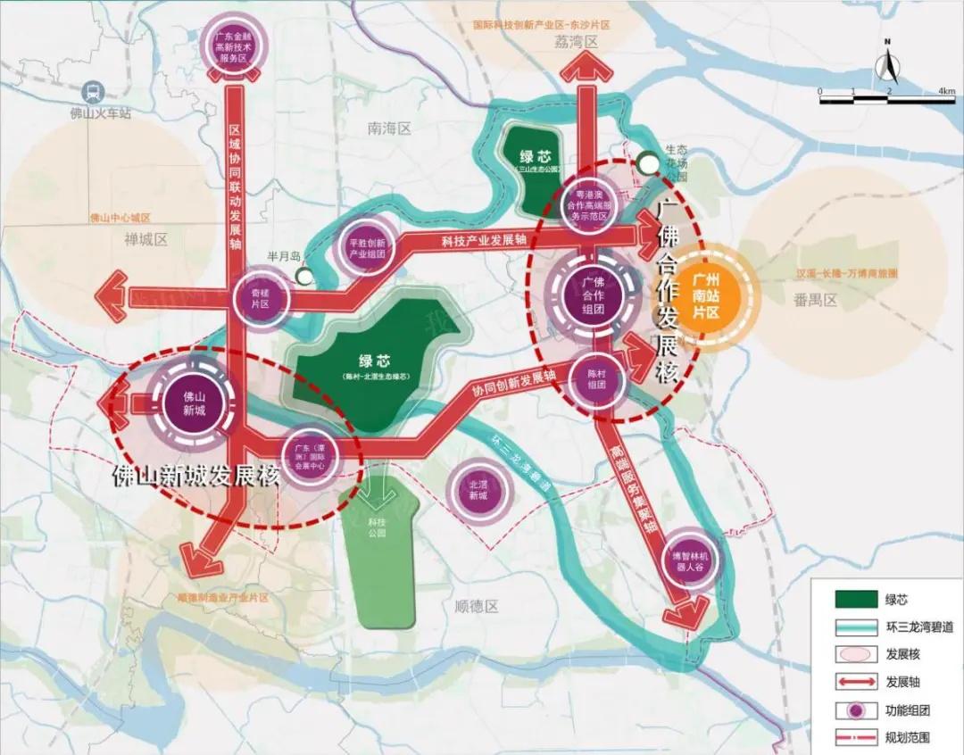 三龙湾总统发展格局规划图
