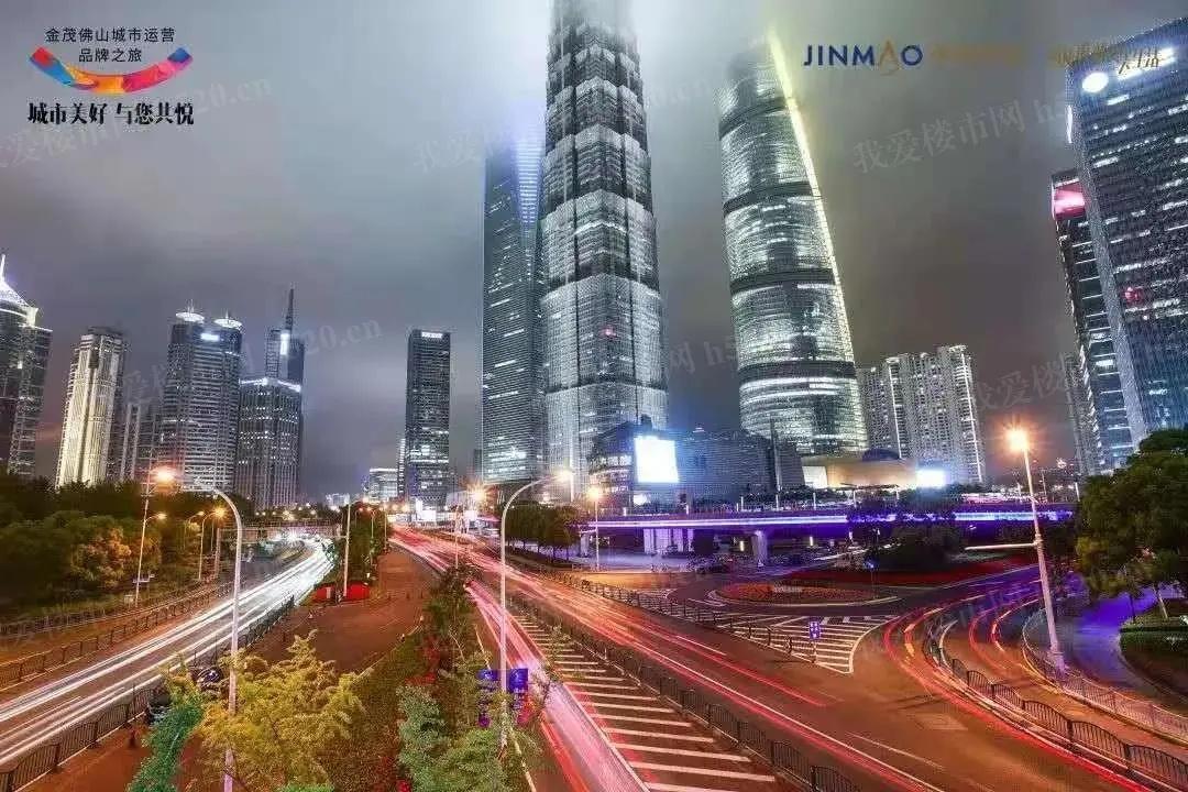 上海金茂大厦实拍