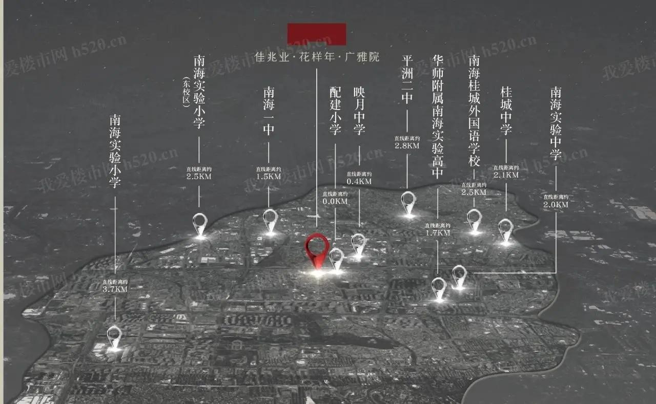 广雅院教育分布示意图