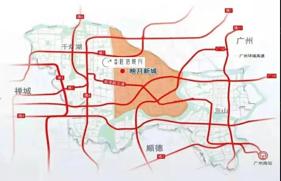 映月新城交通规划