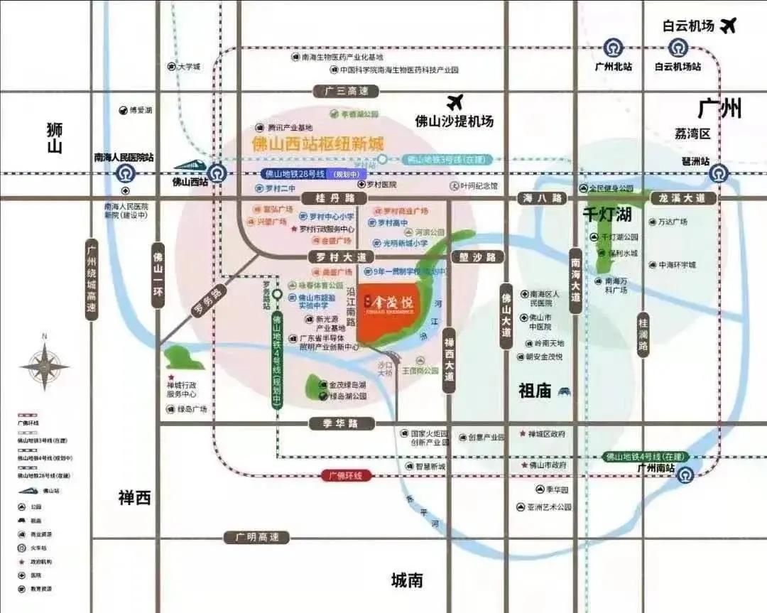 滨江金茂悦区位图