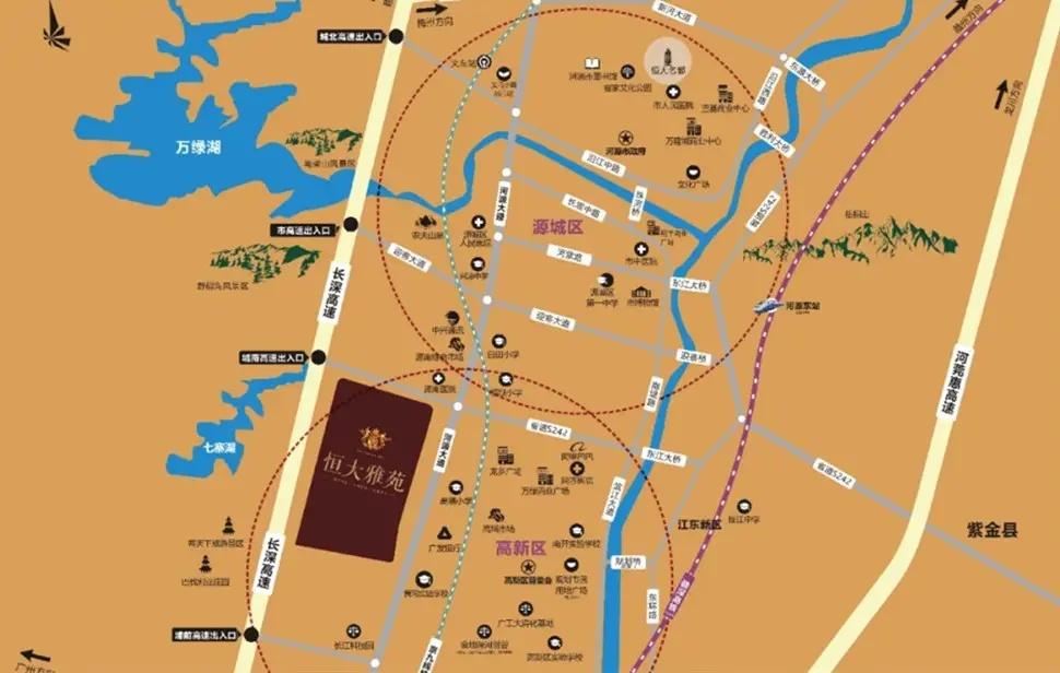 项目区域图