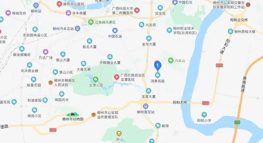 天翼·九龙尚城区位图