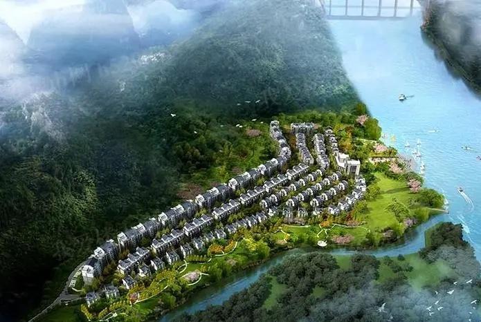 金科·博翠江天鸟瞰图