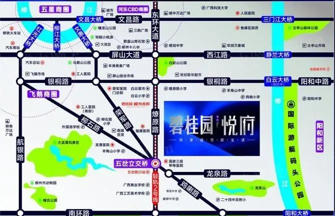 碧桂园·悦府区位图