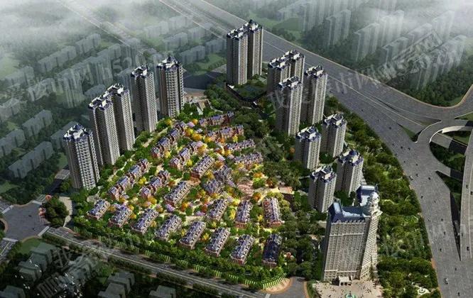 柳州·联盟新城鸟瞰图