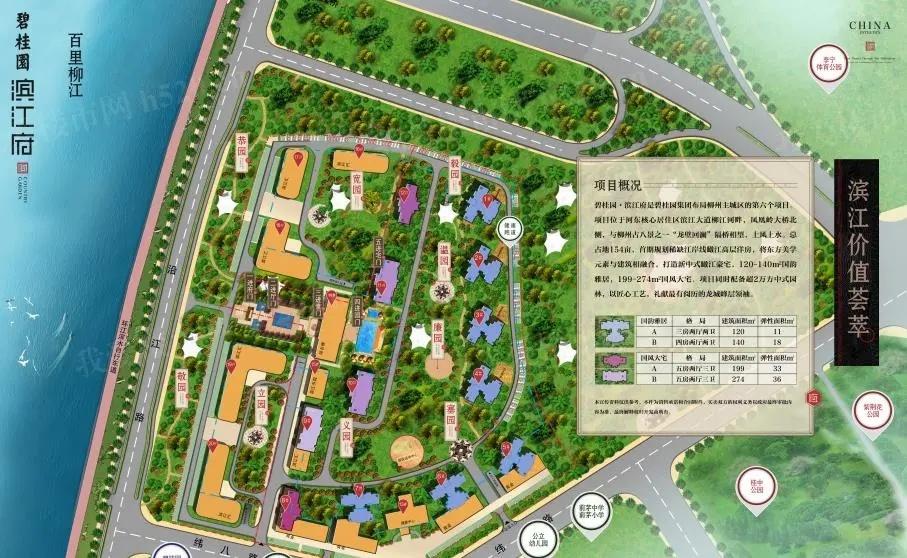 碧桂园滨江府规划图