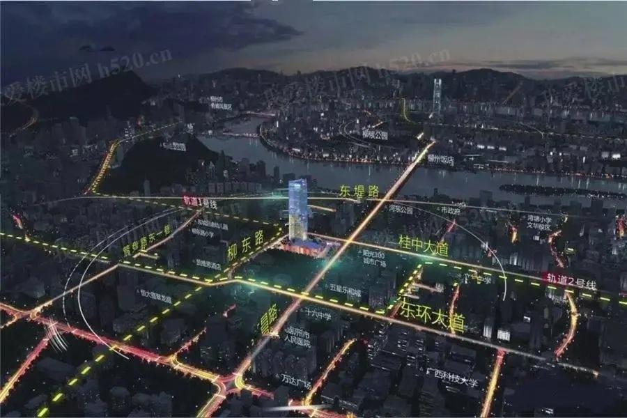三胞国际广场区位图