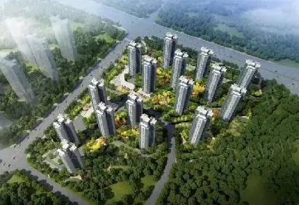 碧桂园·城市花园效果图