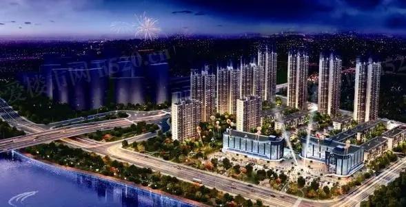 碧桂园·十里江湾远景图