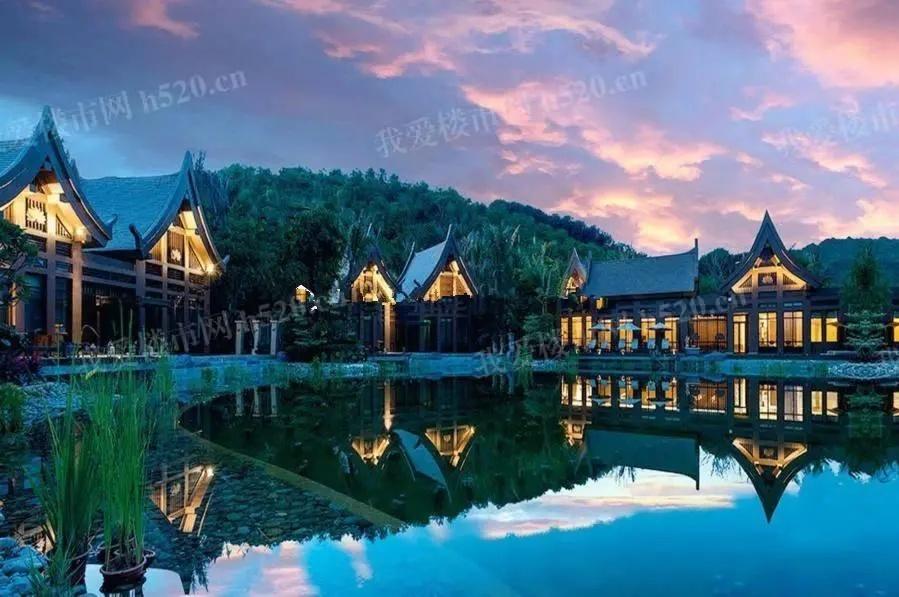 沧江之都南岸景观图