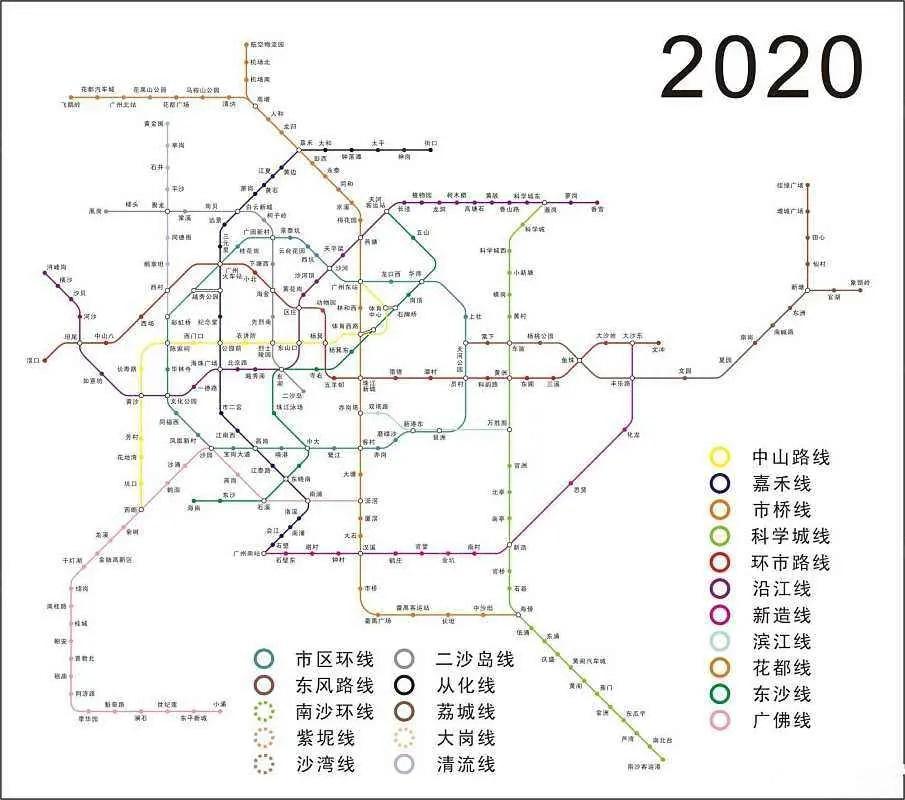 18号线2020年规划路线图