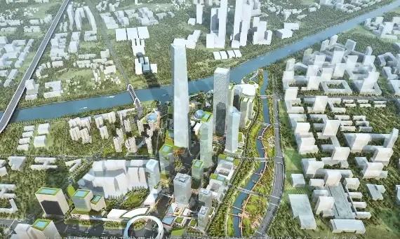 石岐总部经济区规划的超高层地标