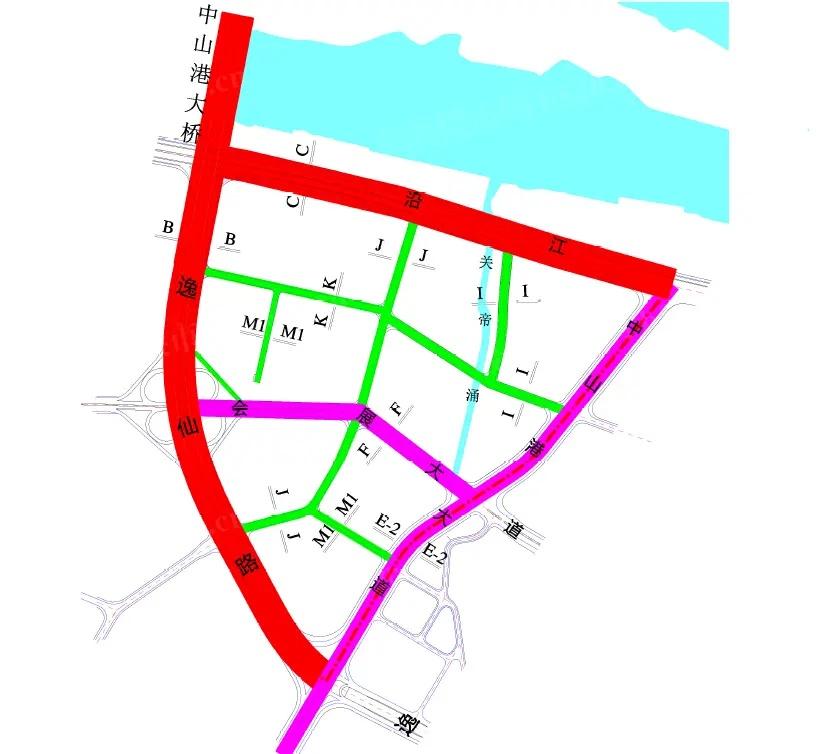 交通规划图