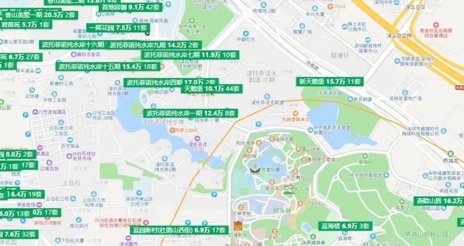 华侨城片区房产情况
