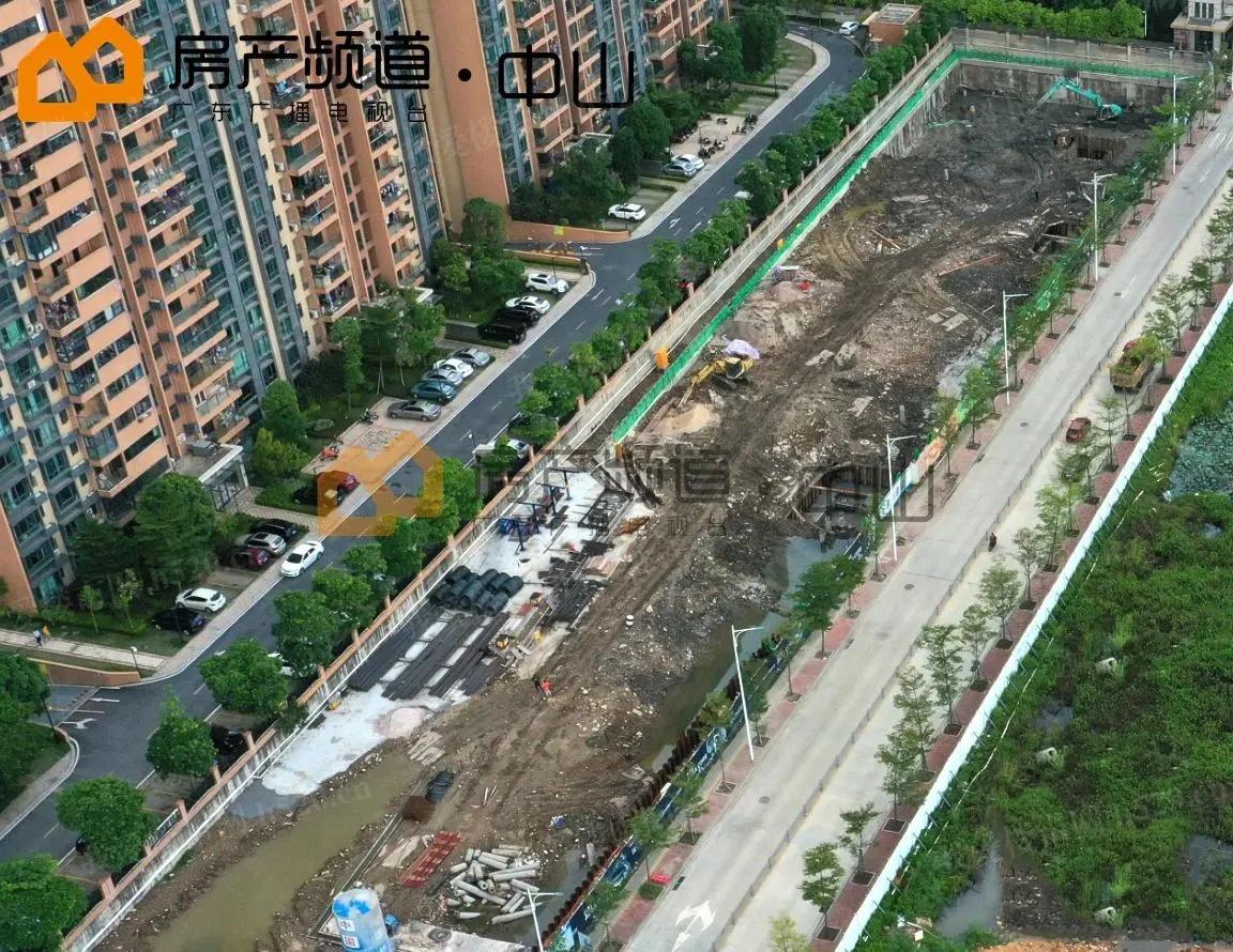 颐安骊璟公馆现状航拍(摄于8月份)