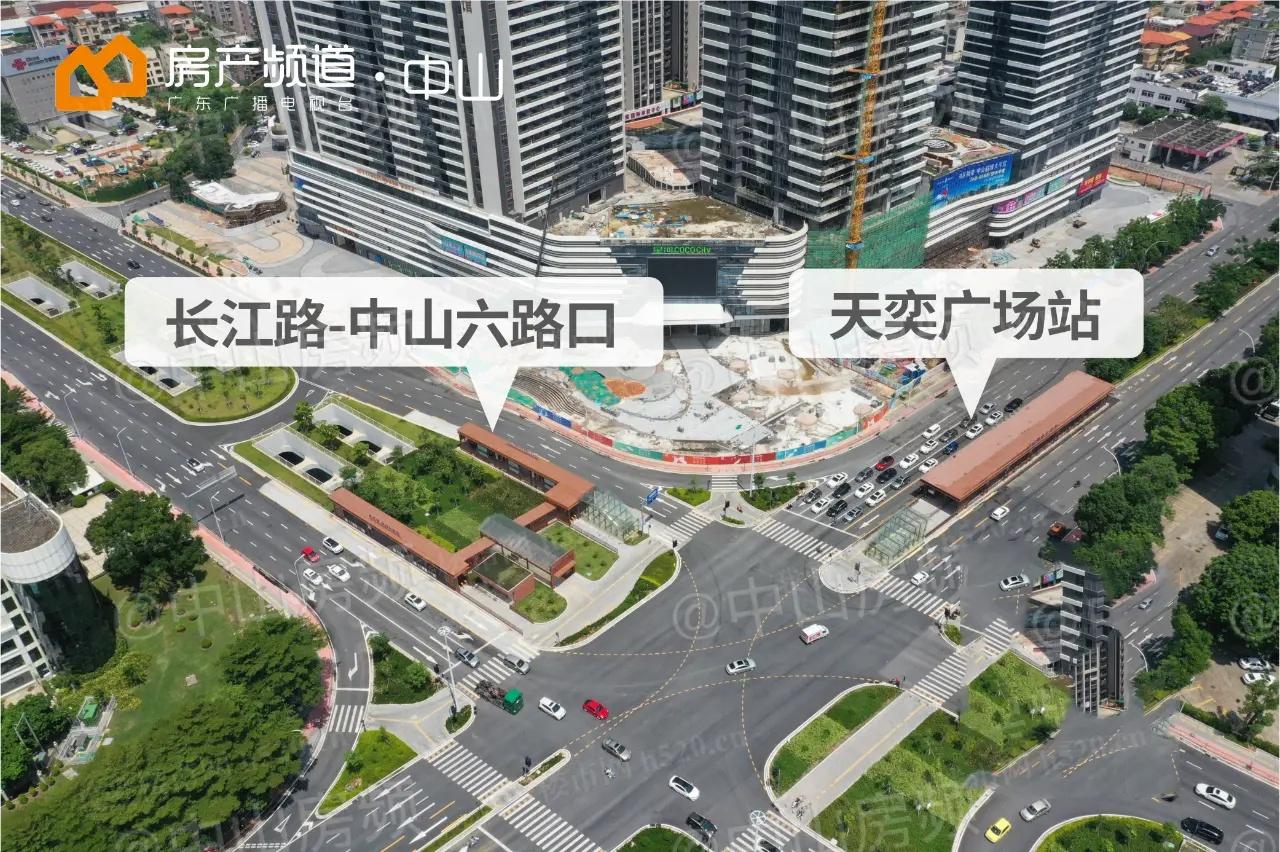 长江路-中山六路交叉口