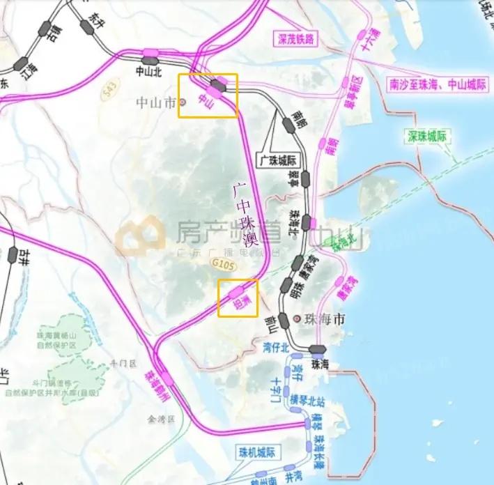 广州铁路枢纽平面图