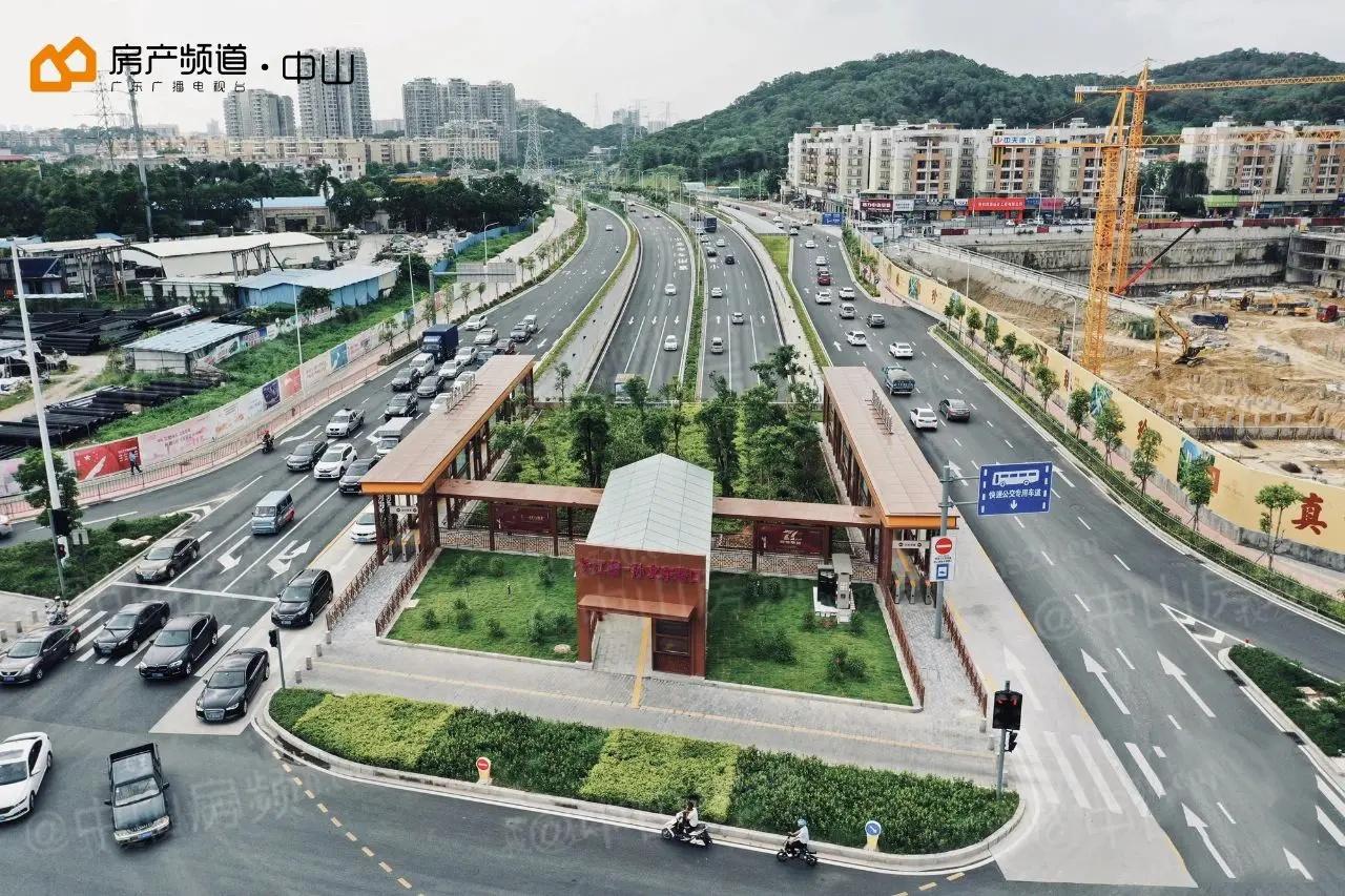 长江路-孙文东路交叉口