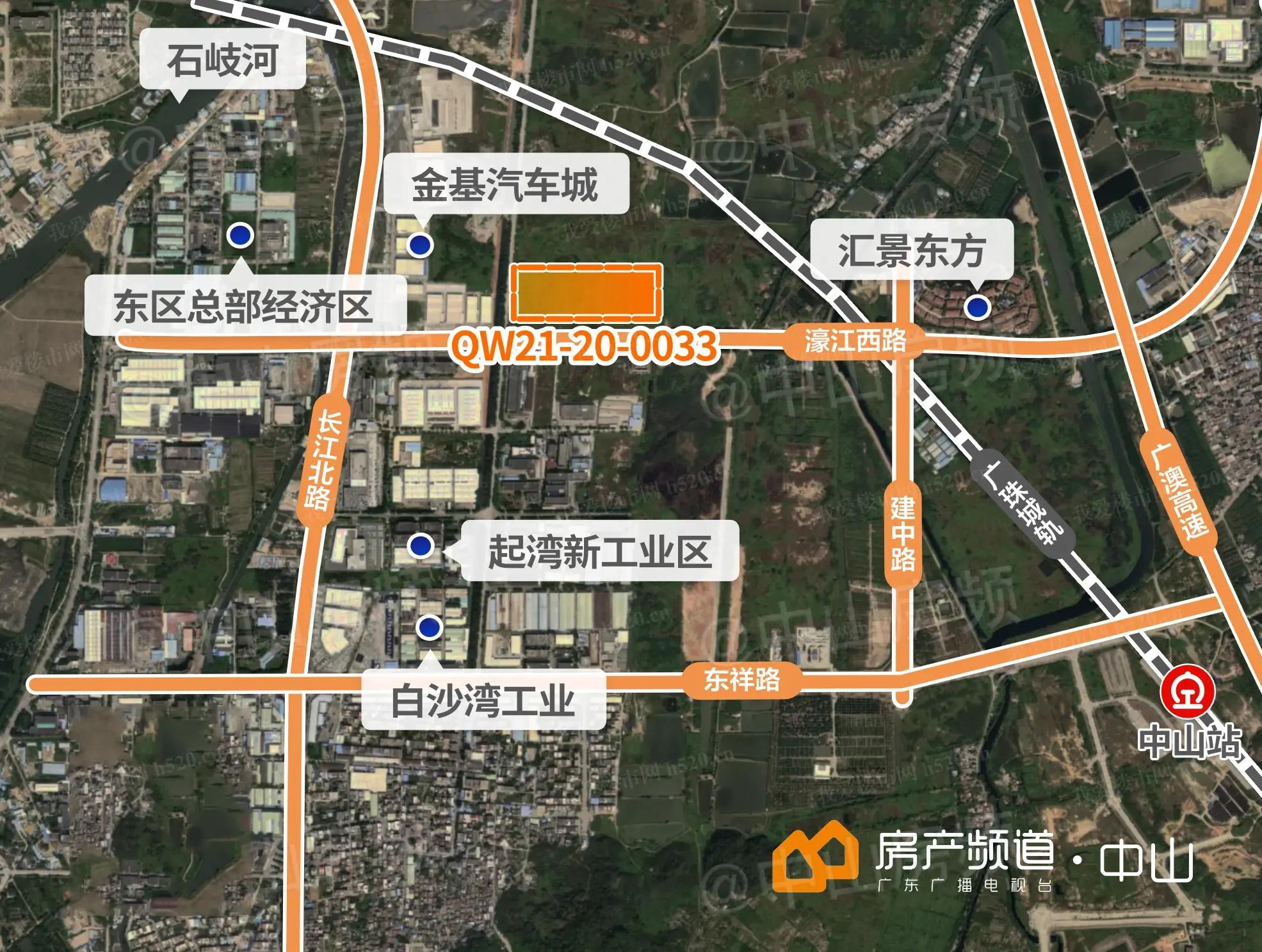 东区总部经济区区位图