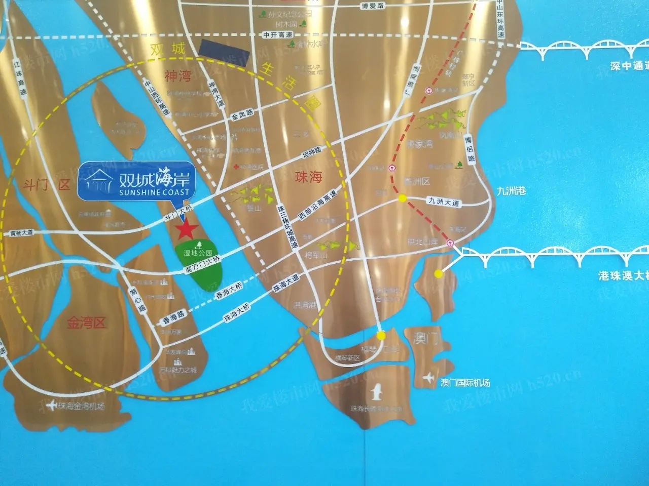 双城海岸区位图