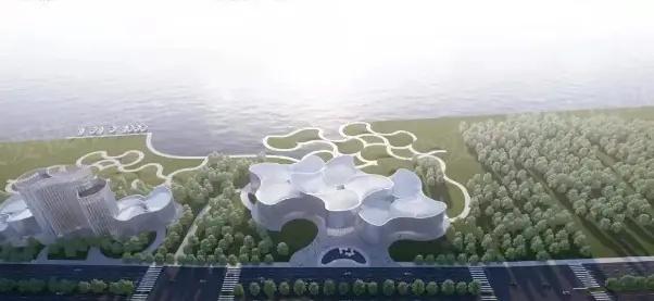 榄菊·大湾区博物馆效果图