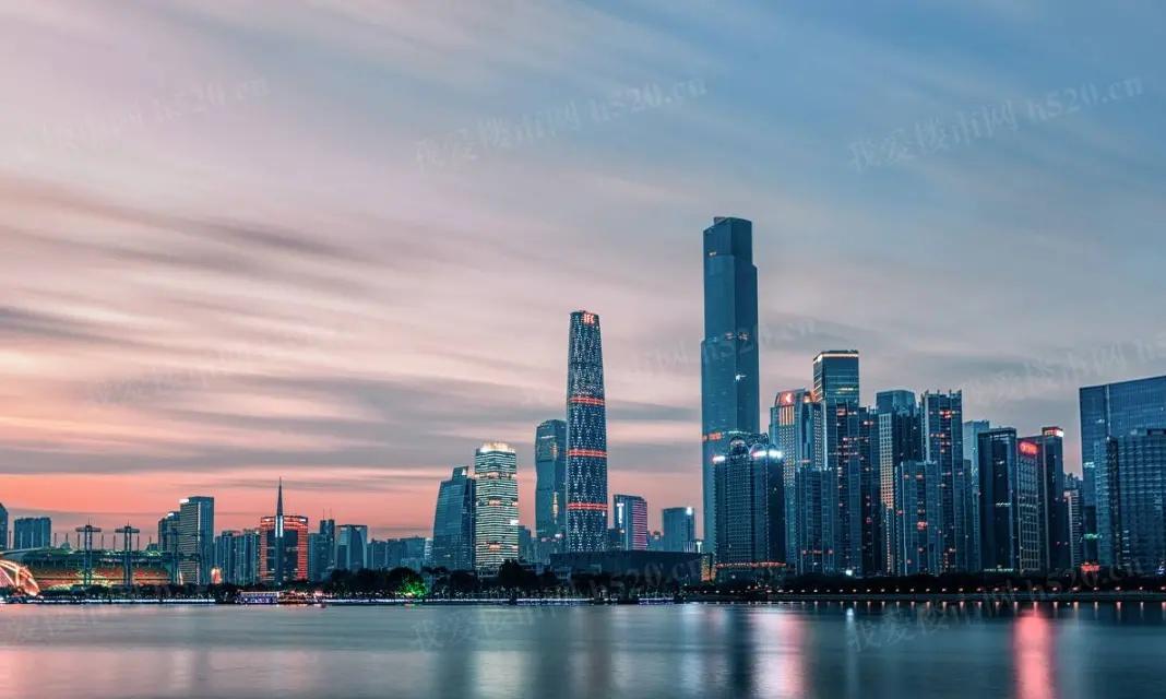 广州珠江新城实景图