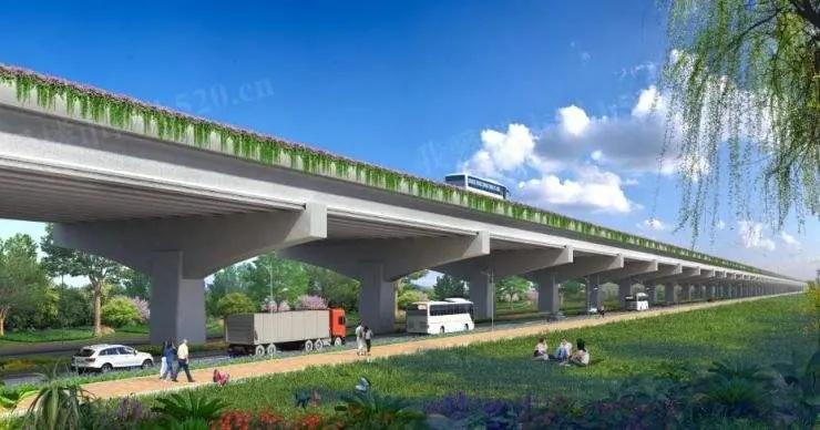坦洲交通建设效果图