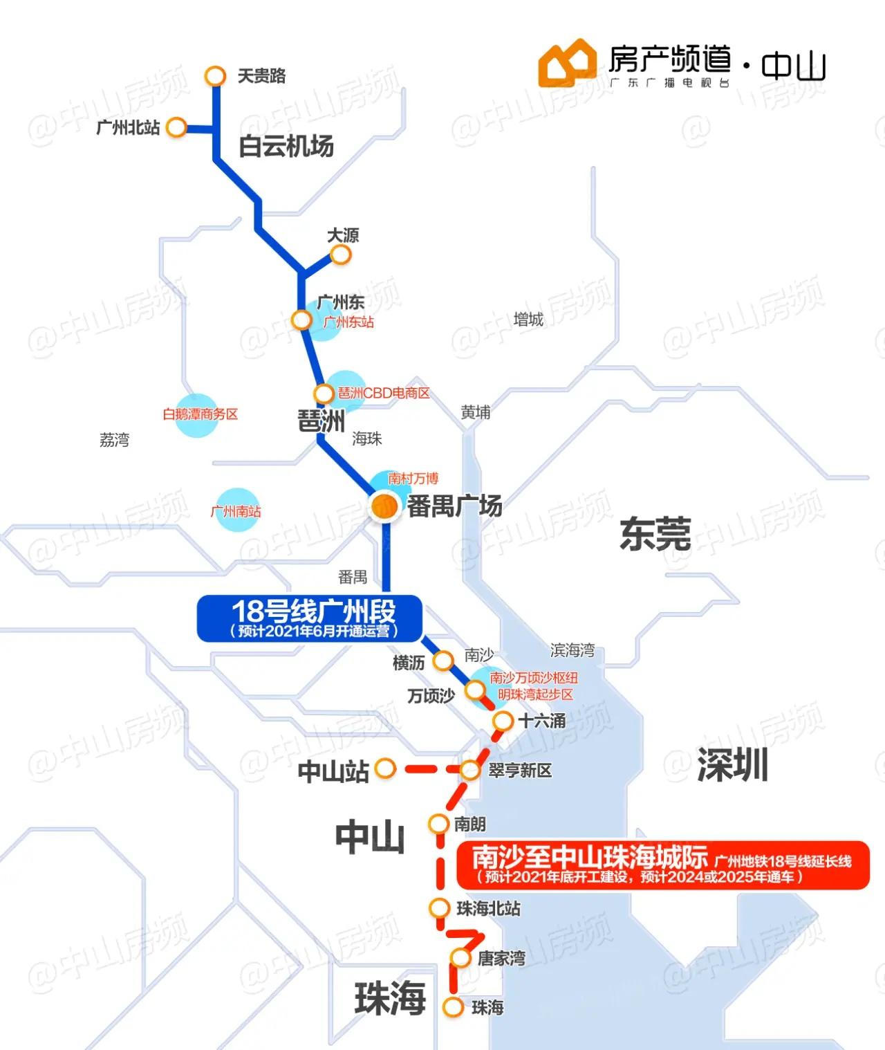广州至珠海(中山)城际铁路