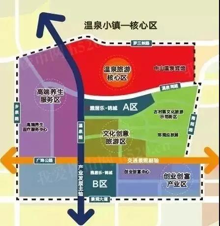 温泉小镇规划图