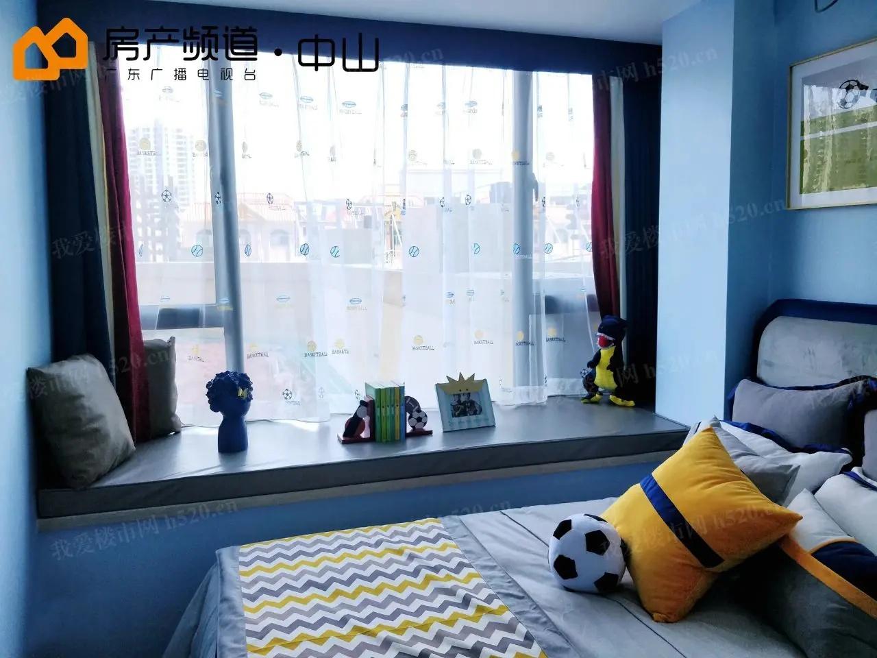 部分房间内飘窗设计,方便拓展空间