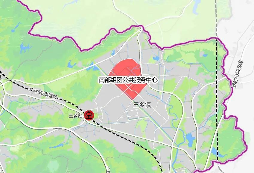 此前广中珠澳路线中山段路线及站点